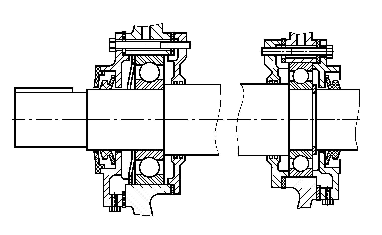 электродвигатели фланцевые схема