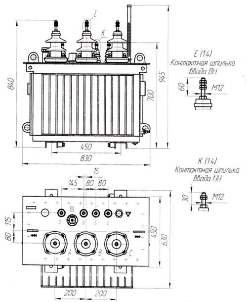инструкция по эксплуатации тмг 40 ква - фото 9